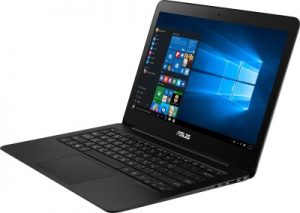 Best slim laptops under rs 75000 - Asus ZenBook UX305UA-FC001T
