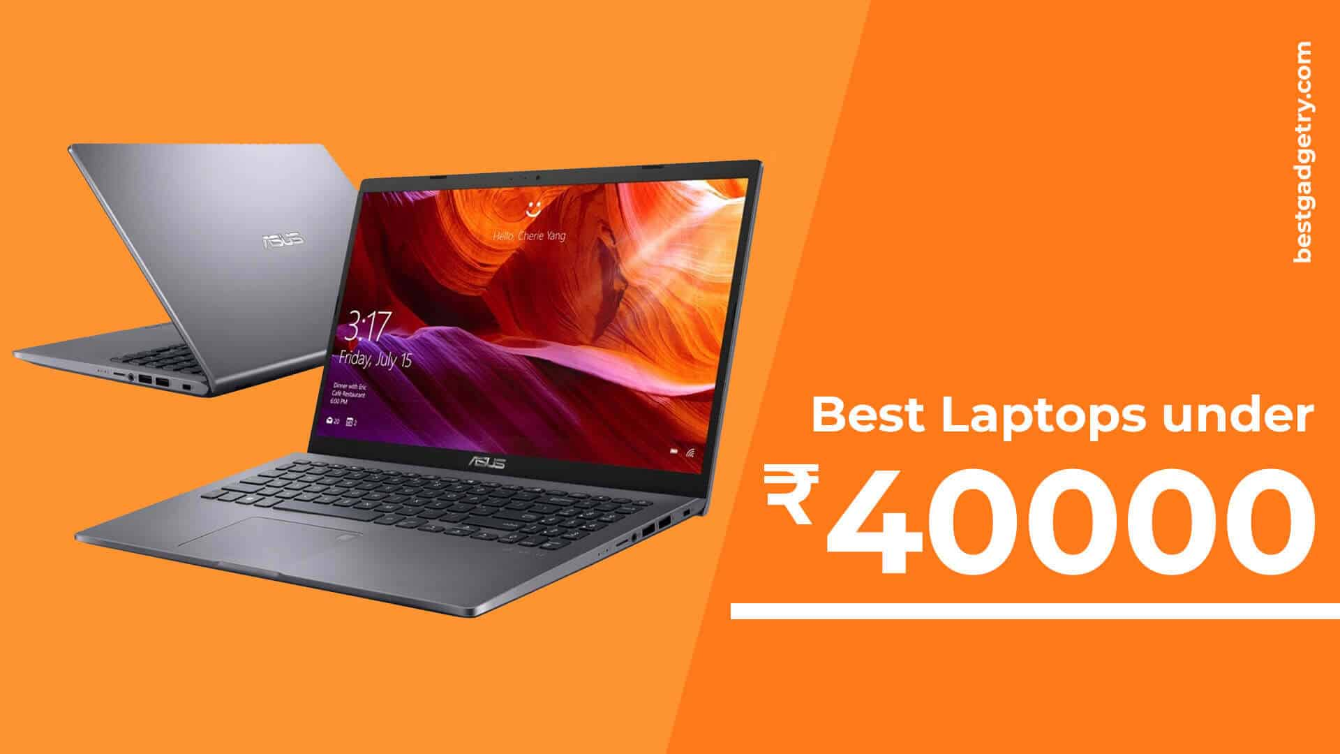 Best Gaming Laptops under 40000 in India