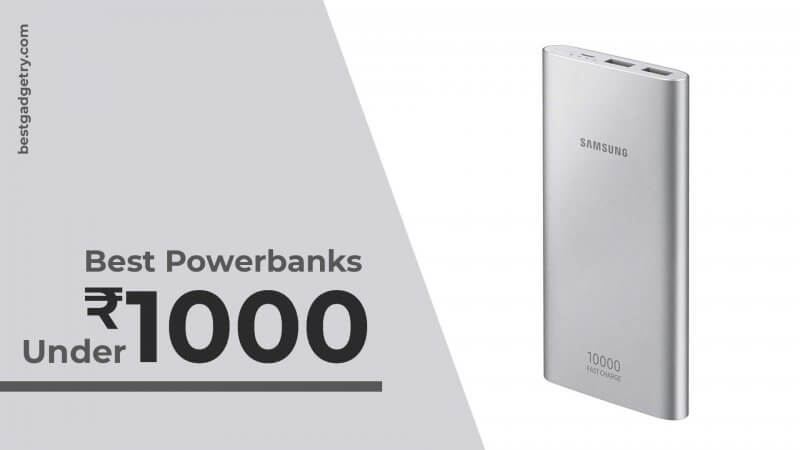 Best Power Bank under Rs 1,000 in India