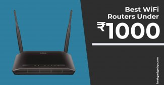 Best Wi-Fi router under 1000 in India