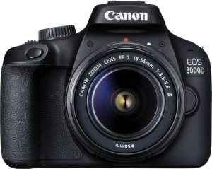 best DSLR cameras under Rs 25,000 - Canon EOS 3000D