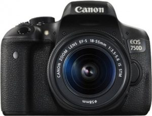 best DSLR cameras under 50000 rs in India - Canon EOS 750D