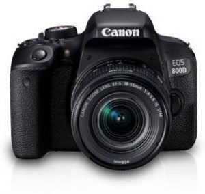 best DSLR camera under 50000 rs in India - Canon EOS 800D