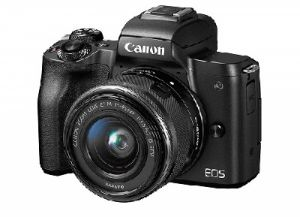 Canon EOS M50 24.1MP Mirrorless DSLR Camera