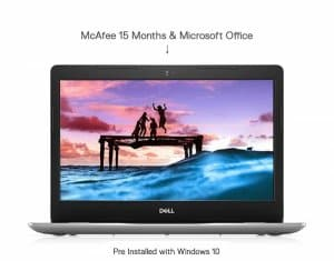 Dell Inspiron 3493 14inch laptop