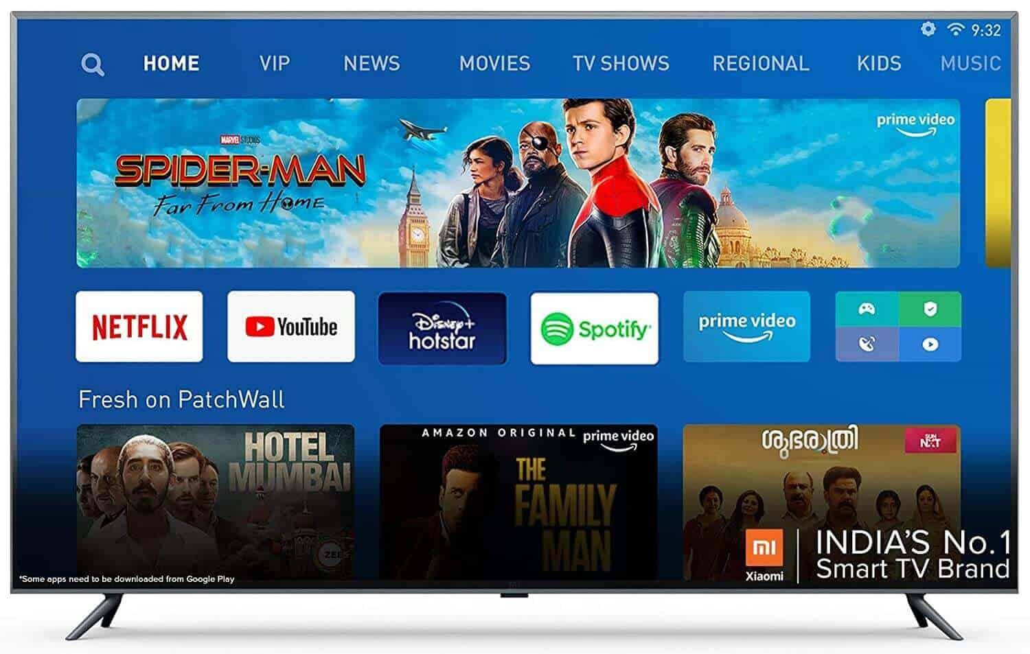 Mi TV 4X 163.9 cm (65 Inches) 4K Ultra HD Android LED TV 6c