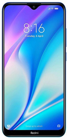 Redmi 8A Dual (Sea Blue, 2GB RAM, 32GB Storage)