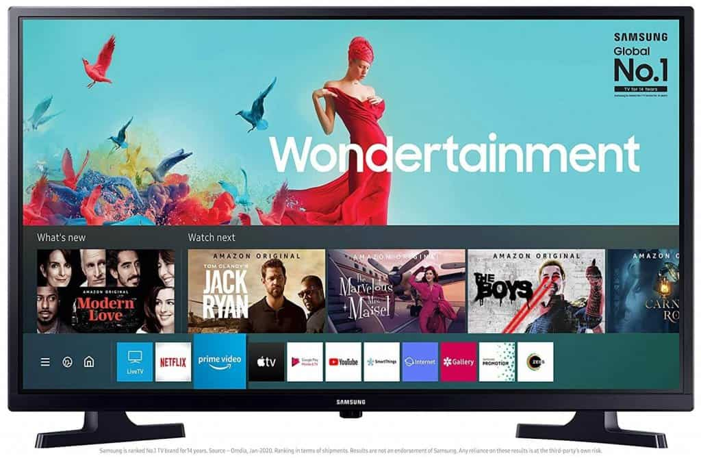 Samsung 80 cm (32 Inches) Wondertainment Series HD Ready LED Smart TV3c
