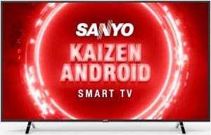 Sanyo 55 inches 4K UHD Certified Android Smart QLED TV