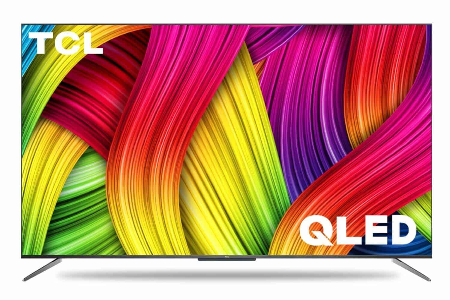 TCL 138.7 cm 55 inches 4K Ultra HD Certified Android Smart QLED TV