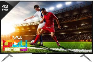 Best 43 inch tv in India - Vu 43D6545
