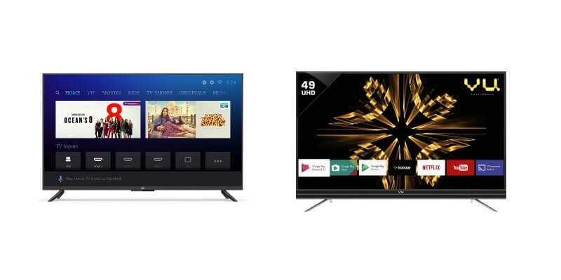 Best 50 Inch Tv 2019 Best 50 Inch TV in India (2019) under Rs 50,000 (including Smart TVs)
