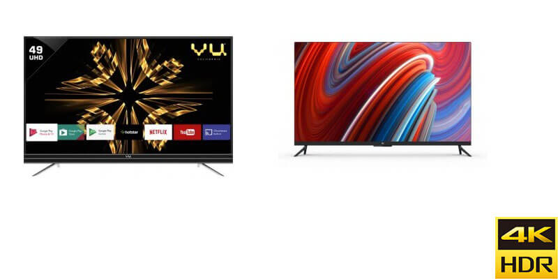 Best Ultra HD (UHD) 4K LED Televisions in India under Rs