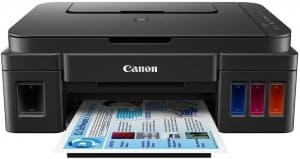 Canon Pixma G3000 All-in-One Wireless Ink Tank color Printer