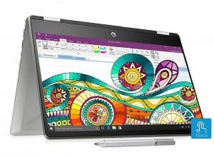 HP Pavilion x360 8th Gen i7  14-inch Full HD Laptop