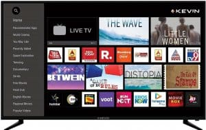 Kevin 4K UHD Smart Android LED TV