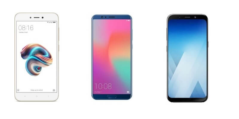 new phones launched in india