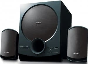 Sony SA-D20 C E12 2.1 Channel Multimedia Speaker System